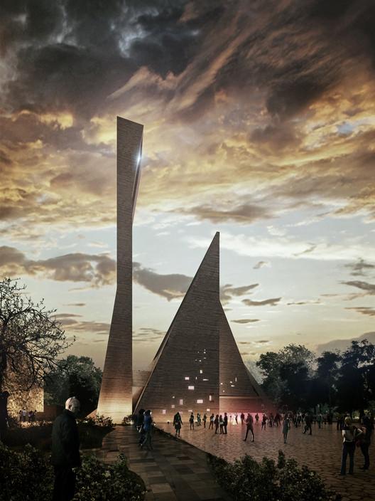 México: Propuesta ganadora para la nueva Catedral de Celaya, por Gaeta-Springall Arquitectos, Cortesía de Gaeta-Springall Arquitectos