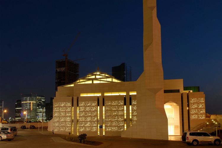 Translucent Concrete Animates the Facade of this Abu Dhabi Mosque, © LUCEM