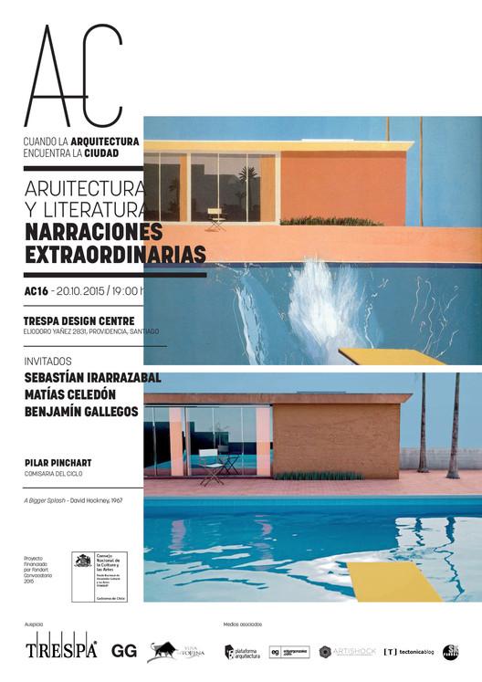 Arquitectura y Literatura: 'Cuando la Arquitectura Encuentra la Ciudad' / Santiago