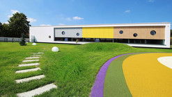 Yellow Elephant Kindergarten / xystudio