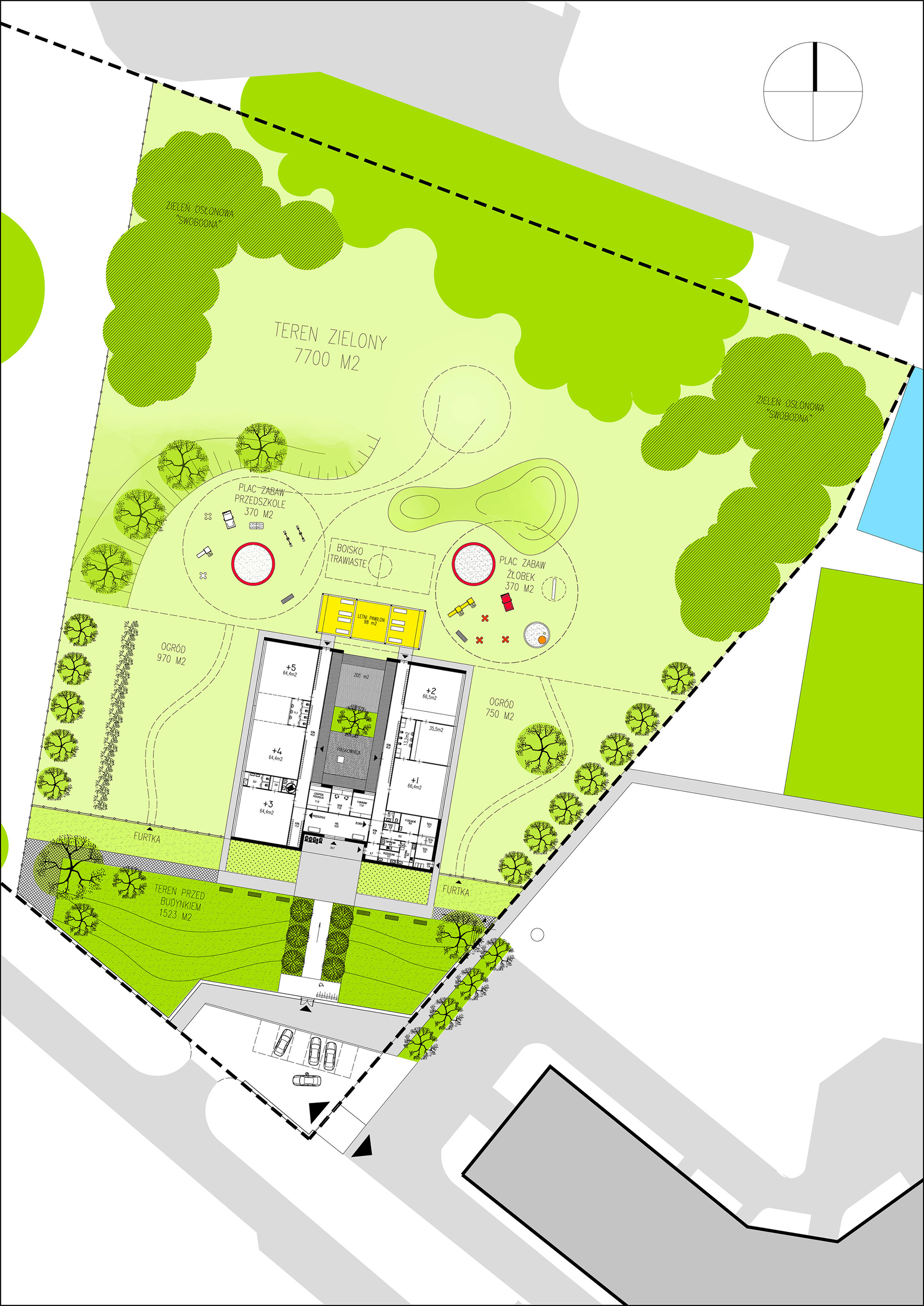 Gallery of yellow elephant kindergarten xystudio 25 for Plantas de colegios arquitectura