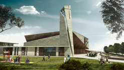 Studio Kuadra's Iconographic Design Selected as Winner of Cinisi Church Competition