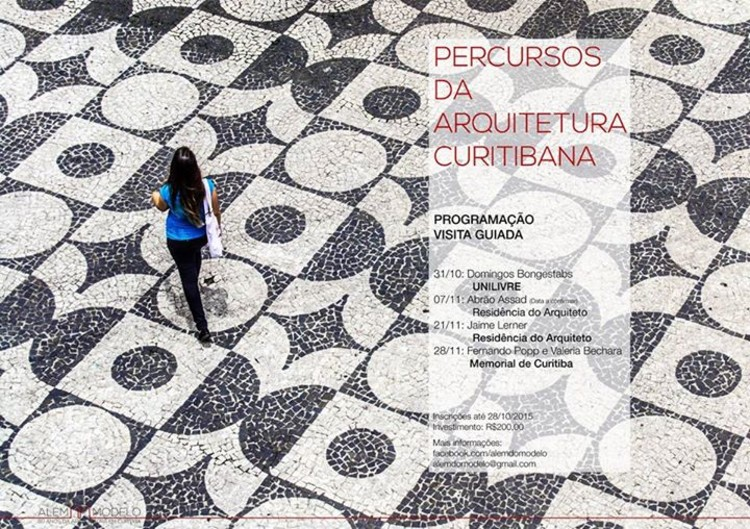 """Percursos da arquitetura curitibana"" promove visitas por obras emblemáticas de Curitiba, © Marcelo Miotto"