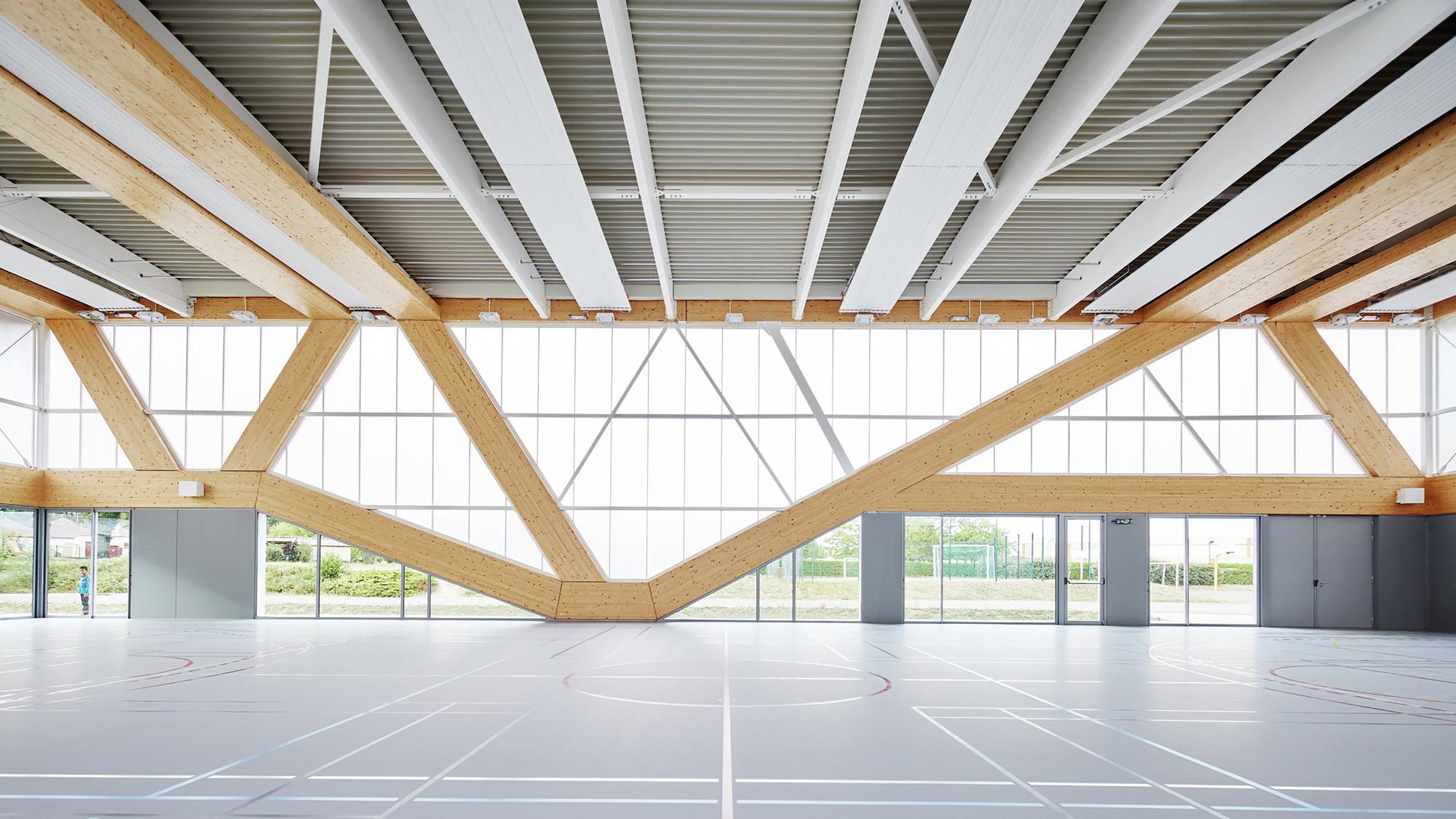 Gallery Of Nathalie Mauclair Gymnasium Schemaa 10