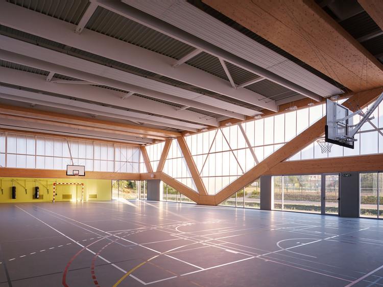 Nathalie Mauclair Gymnasium  / SCHEMAA, © David Foessel
