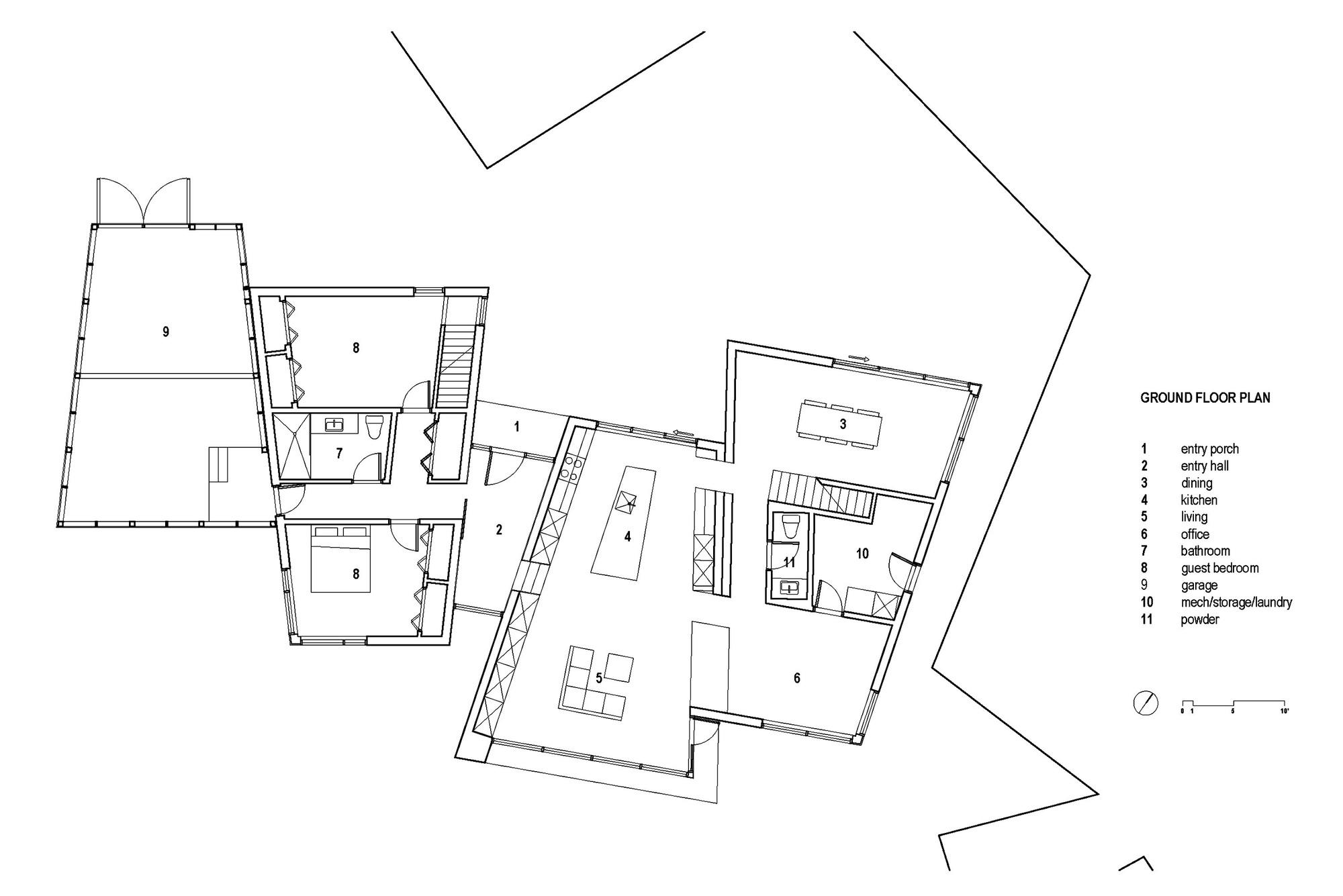 Gallery of float house omar gandhi architect 21 for Floating house floor plans
