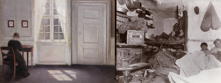Danish Modernity: Jacob Riis and Vilhelm Hammershøi in 1900