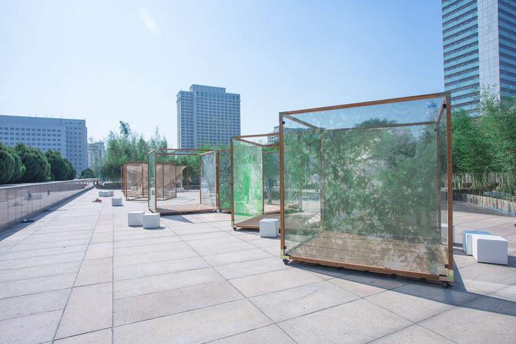 Pavilhão Bamboo Mirror / Elsedesign, Cortesia de Elsedesign
