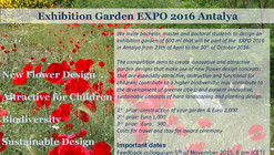 """Flower of Life"" International Student Competition for Garden Design"