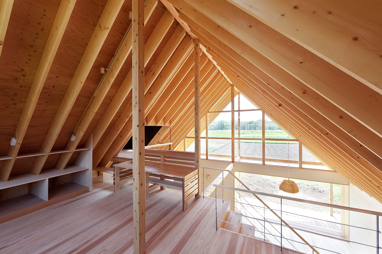 A Gabled Roof In Kawagoe Tailored Design Lab Archdaily