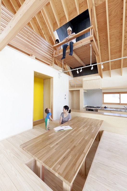 Casa techo en Kawagoe / Tailored design Lab, © Yuji Nishijima
