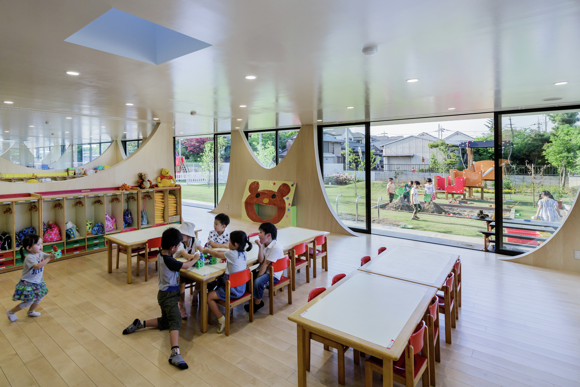 Architecture Design For Virtual Classroom ~ Yutaka kindergarten sugawaradaisuke archdaily