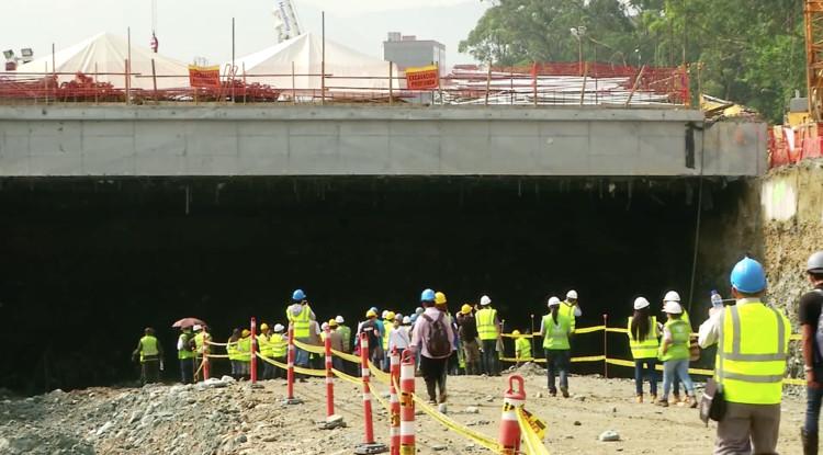 ¿Deben o no continuar las obras de Parques del Río? Opinan los candidatos a la Alcaldía de Medellín, vía Parques Del Rio Medellin