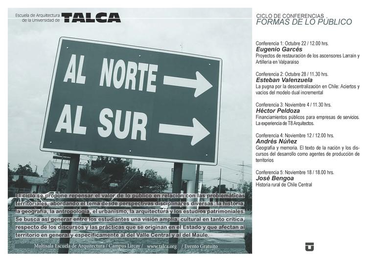 Formas de lo Público, Hector Labarca Rocco