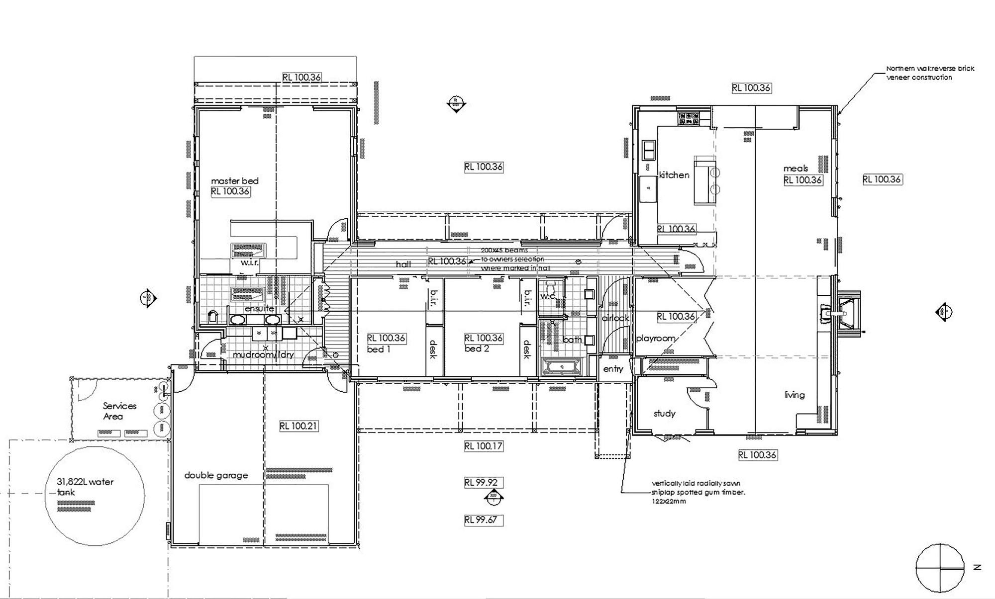 Gallery of 700 haus trentham glow 17 for Haus plan