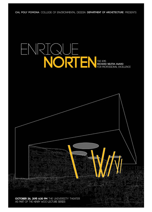 Premio Richard Neutra 2015 para Enrique Norten