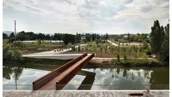 Passarela de Pedestres no Parque Aranzadi / Peralta Ayesa Arquitectos + Opera ingeniería