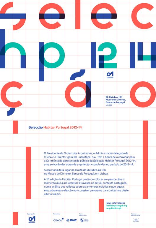 Habitar Portugal 12-14 / apresentação das obras selecionadas, via Ordem dos Arquitectos