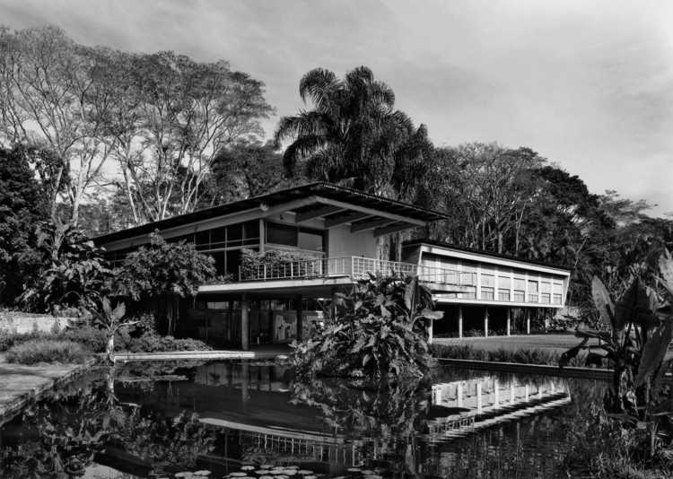 Clássicos da Arquitetura: Residência Olivo Gomes / Rino Levi, © Nelson Kon