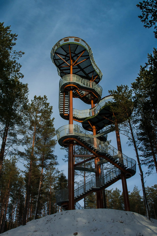Observation Tower  / Arvydas Gudelis, Courtesy of Arvydas Gudelis