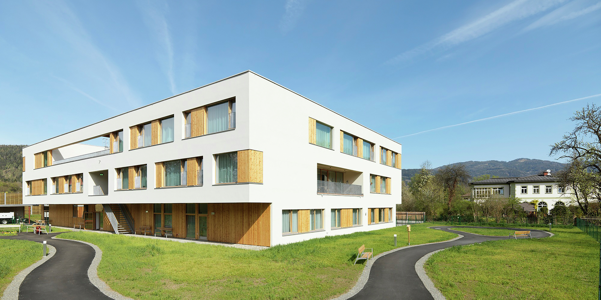 Nursing And Retirement Home Dietger Wissounig Architekten Archdaily