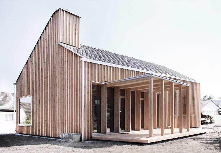 Casa en el Lago Constance / Tom Munz Architekt, © Katia Rudnicki