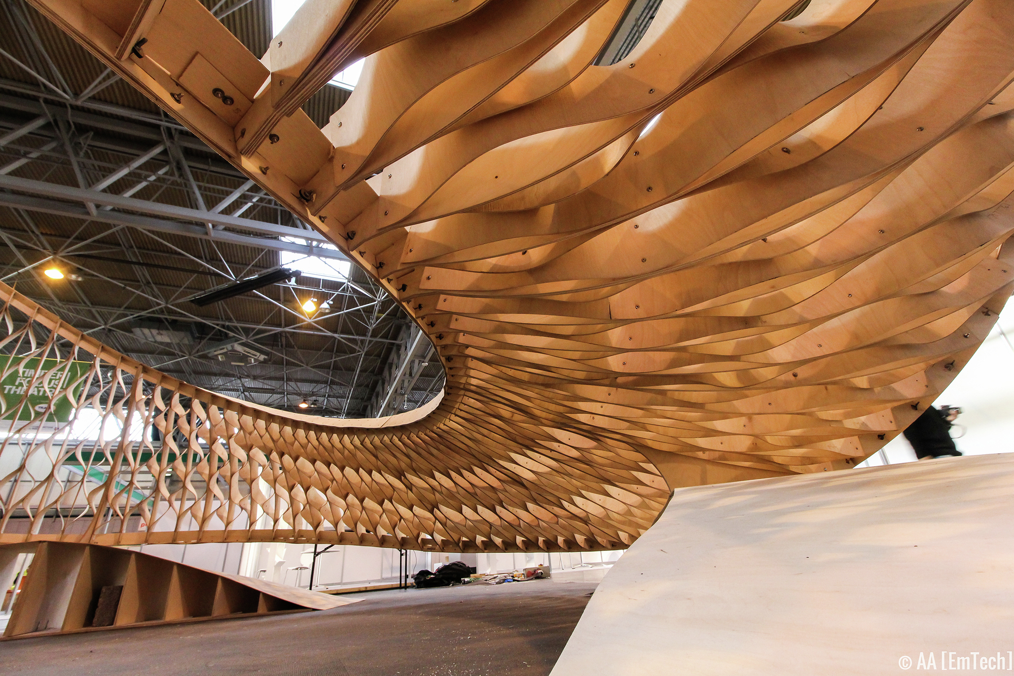 Gallery Of Emtech Twists Plywood At The Timber Expo In