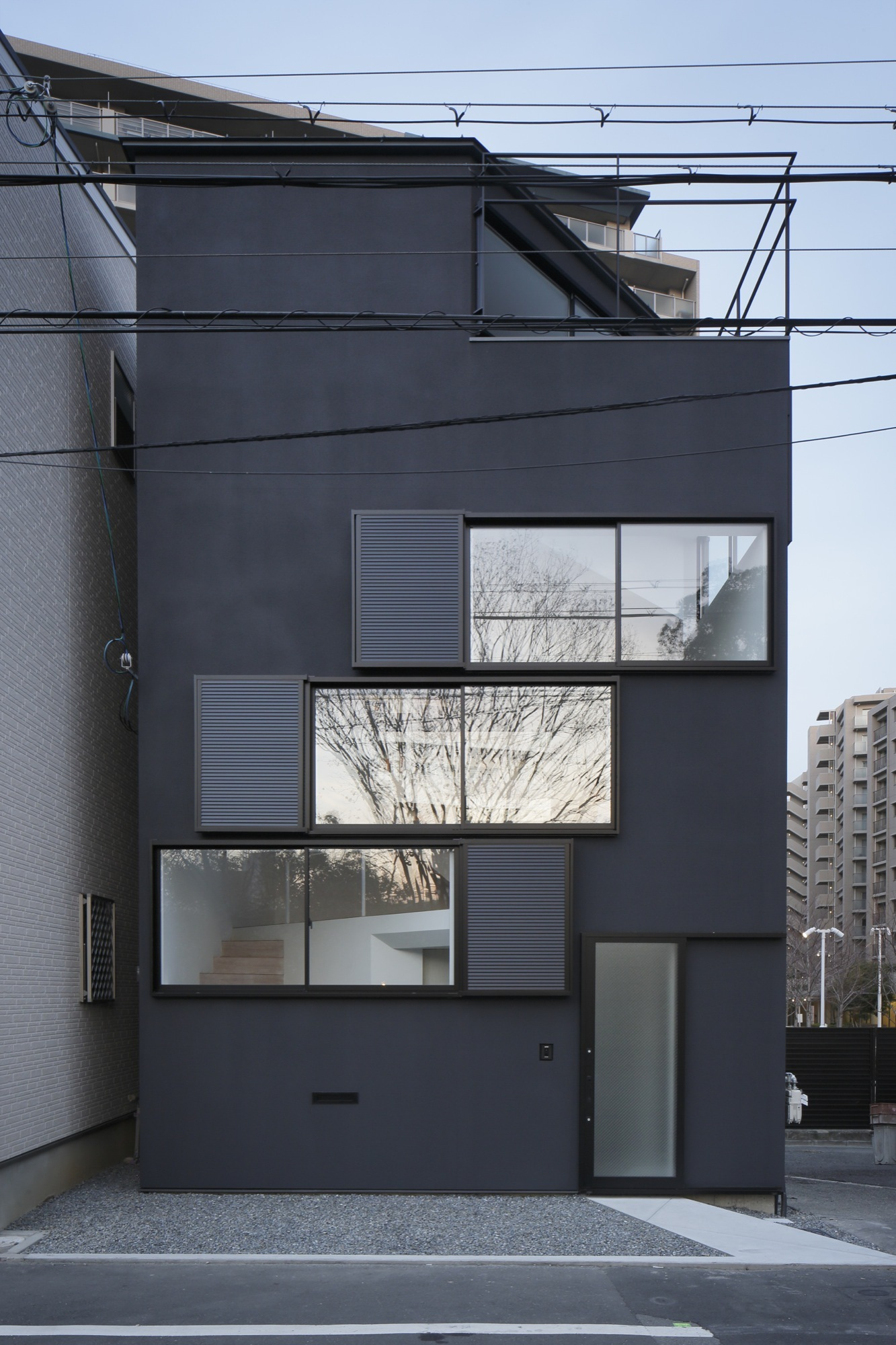 Spiral Window House Alphaville Architects Archdaily