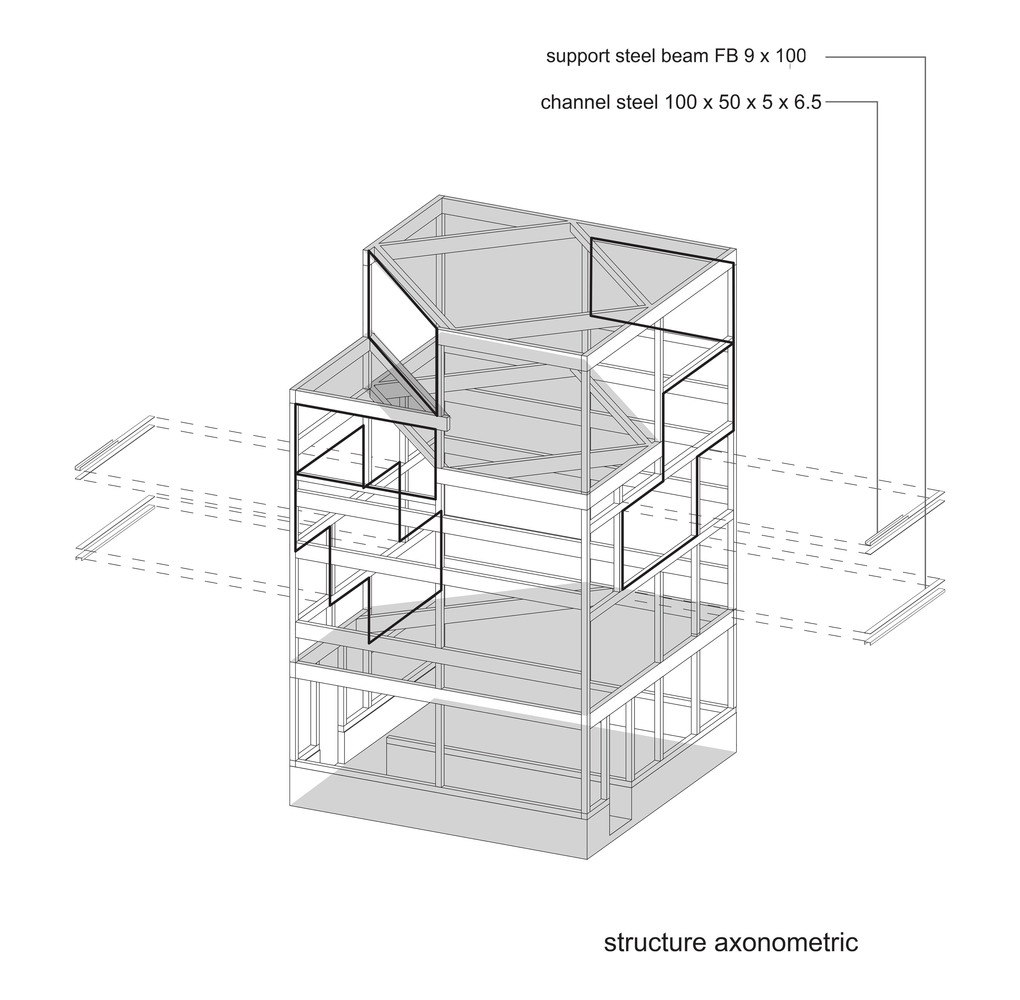 Gallery of Spiral Window House / Alphaville Architects - 17