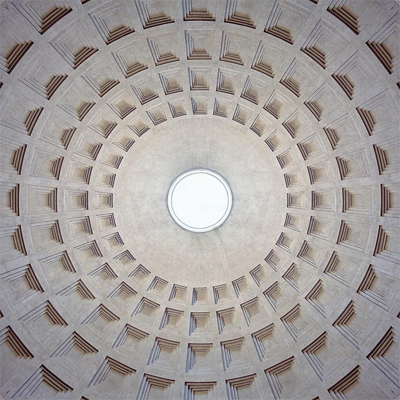 A Brief History of Rome's Luminous Rotundas