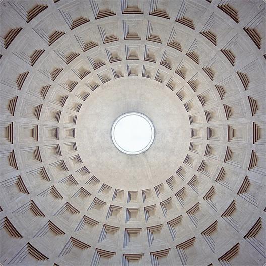 Pantheon, 126, Rome. Image © 2015 Jakob Straub, www.jakobstraub.com