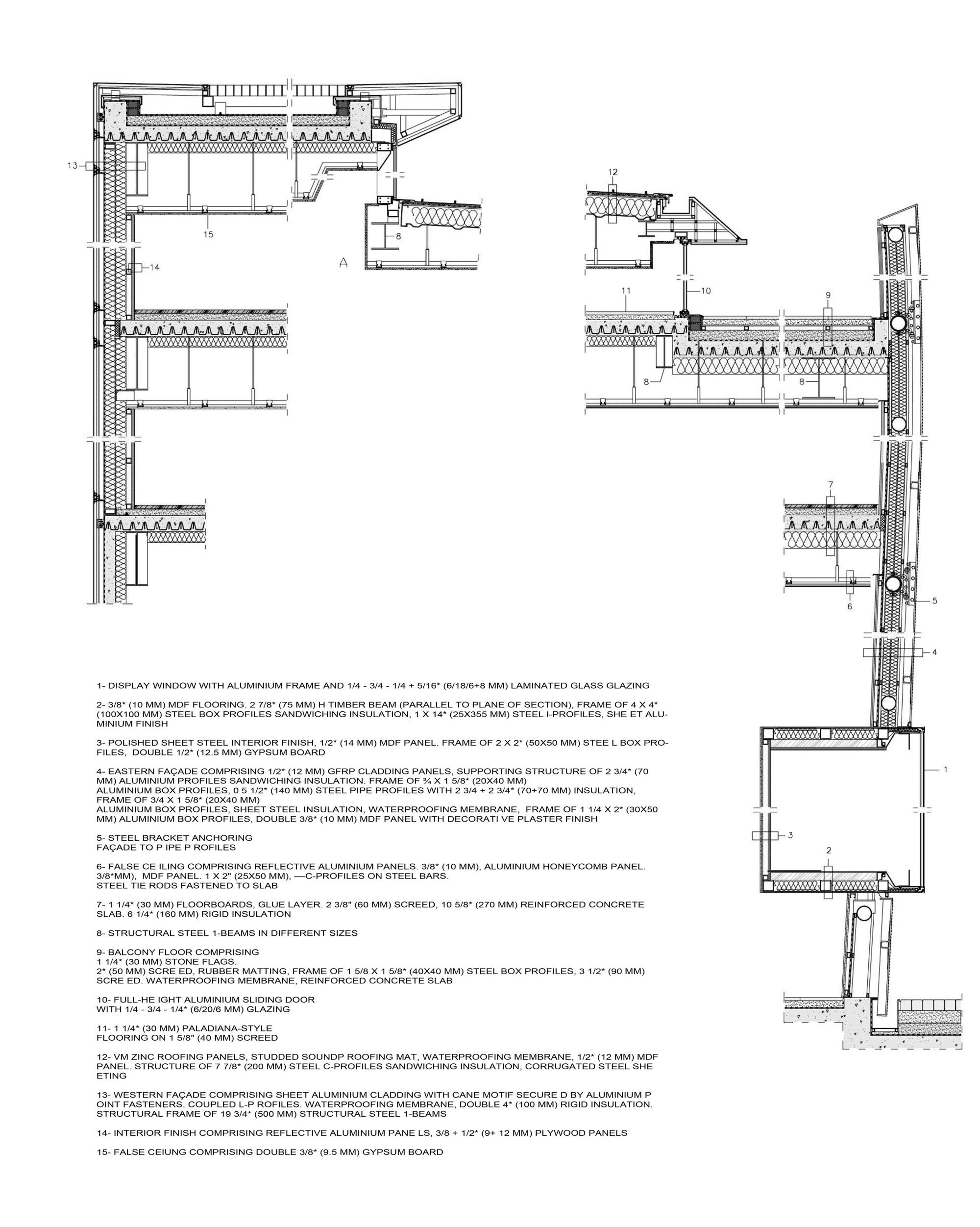 Standard House Measurements Galeria De Casa Dior Em Seul Christian De Portzamparc 53