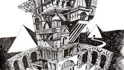 Ilustrações que desafiam a realidade arquitetônica