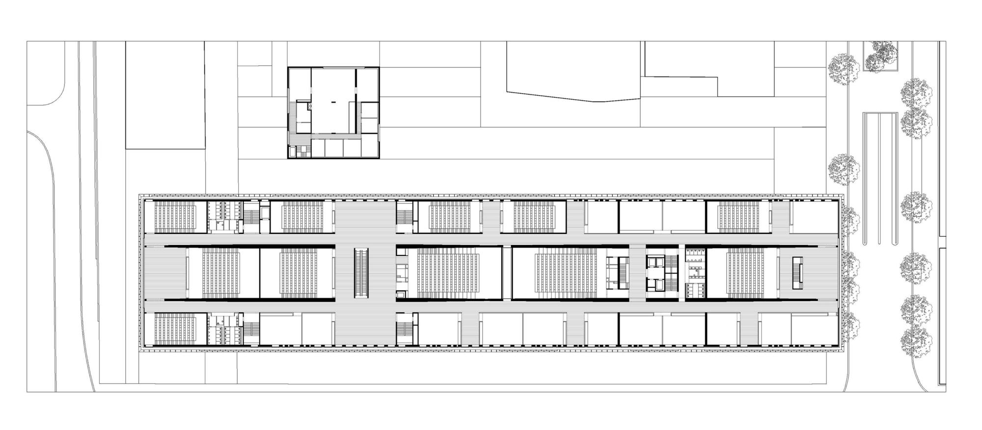 La Maison Du Savoir University Of Luxembourg Baumschlager Eberle Architekten Archdaily