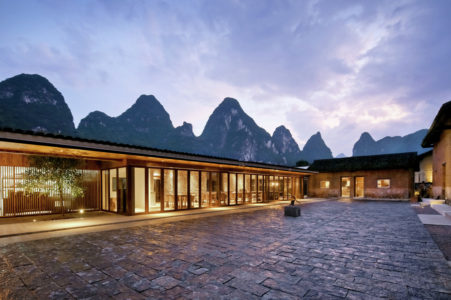 Yun house boutique eco resort ares partners atelier for Sustainable hotel design