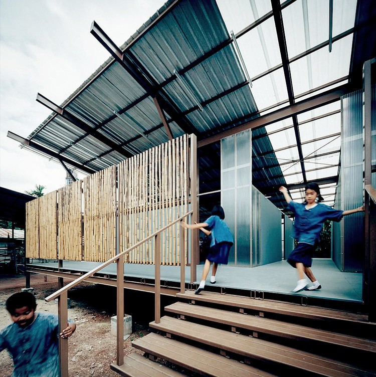 Escuela Baan Nong Bua / Junsekino Architect And Design, © Spaceshift Studio