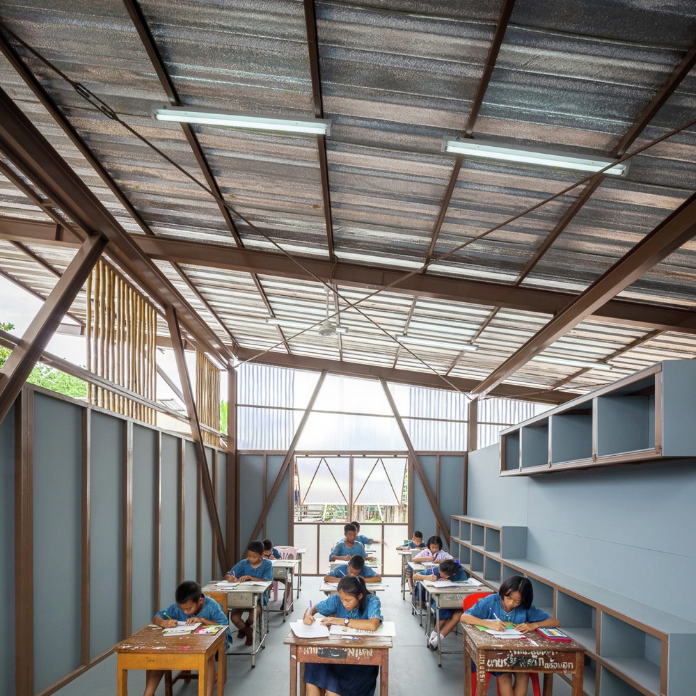 Architect And Design gallery of baan nong bua school / junsekino architect and design - 5