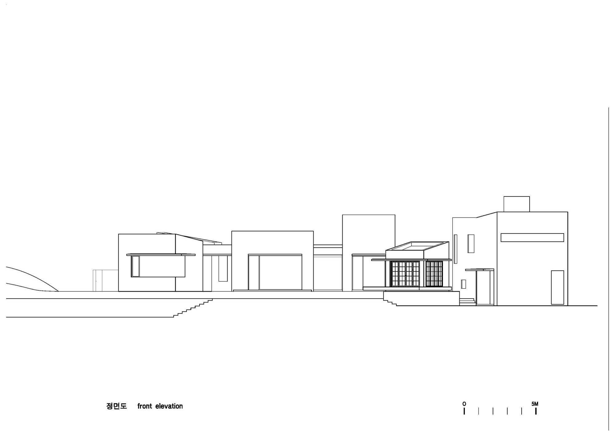D Front Elevation Maker : Gallery of teochon house iroje architects planners