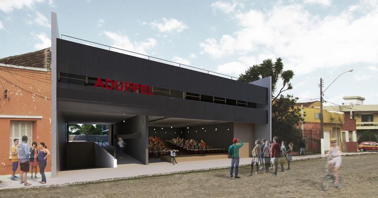 Primeiro Lugar no concurso para a Nova Sede da ADUFPel, por Desterro Arquitetos, Cortesia de Desterro Arquitetos