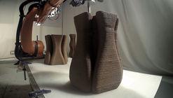 IAAC Researcher's Pylos 3D-Prints with Soil