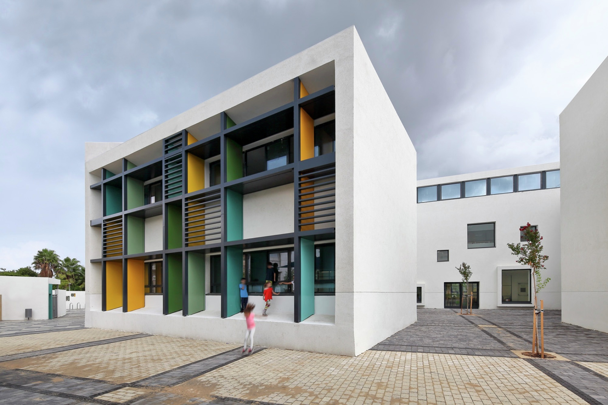Gallery of elementary school in tel aviv auerbach halevy for Exterior design courses