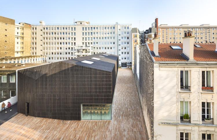 Auditórios da Universidade Descartes / AZC, © Sergio Grazia