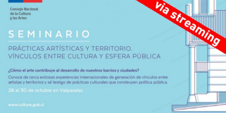 """Seminario """"Prácticas artísticas y territorio, vínculos entre cultura y esfera pública"""""""