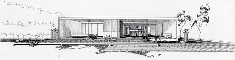 A Virtual Look Into Pierre Koenig's Case Study House #21, The Bailey House, © Pierre Koenig, CSH 21, 1958