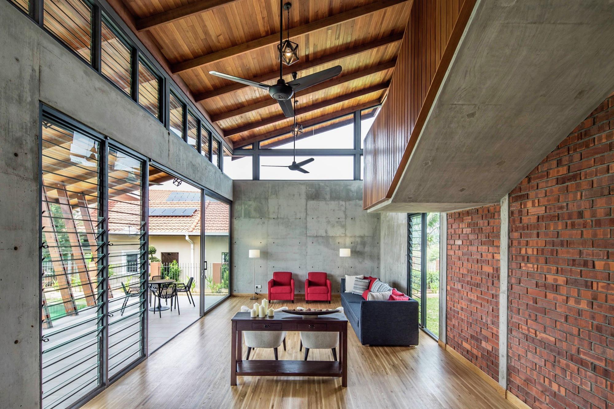 Small Timber Loft Interior Design