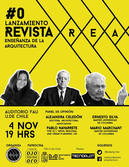 """Lanzamiento revista REA #0, Lanzamiento revista REA #0 """"Enseñanza de la arquitectura. Metodologías de taller"""""""
