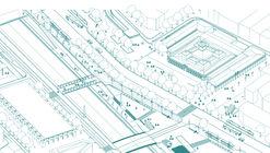 SHIFT Arquitectos y Asociados, finalistas del concurso de nueva Explanada de los Mercados en Santiago
