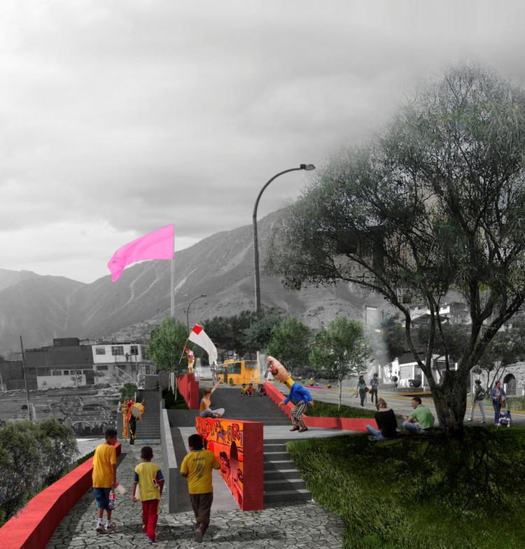 Arquitectura en comunidad: FITECA y la creación de los Barrios Culturales de La Balanza en Lima, Cortesía de Archivo CITIO