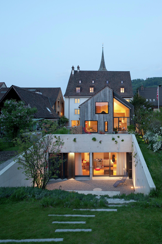 Kirchplatz Residence + OA Europe Office / Oppenheim Architecture + Design
