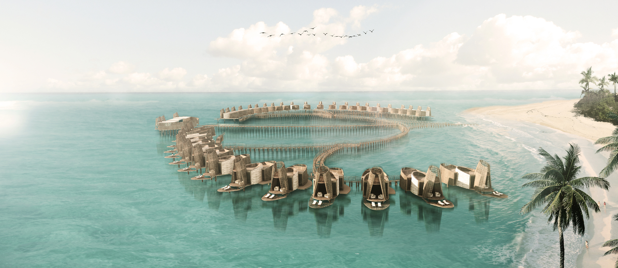 """Mexico >> Gallery of Sordo Madaleno Arquitectos' """"Isla Pasion"""" Development in Cozumel is Inspired by Mayan ..."""